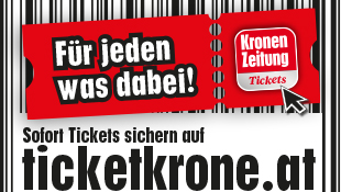 Eintrittskarten für über 18.000 Events (Bild: Teaser ticket.krone.at 20160722)