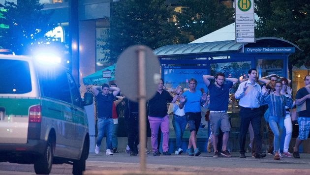 Zehn Tote: Das war der blutige Amoklauf in München (Bild: ASSOCIATED PRESS)