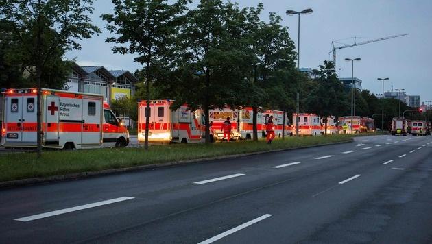 Zehn Tote: Das war der blutige Amoklauf in München (Bild: APA/AFP/STR)