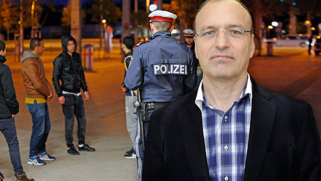 """""""Die Wiener Drogen-Hotspots gibt es nicht mehr"""" (Bild: Reinhard Holl, Klemens Groh)"""