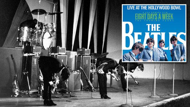 Hollywood-Bowl-Konzerte erscheinen erstmals auf CD (Bild: Apple Corps Ltd., Universal Music)