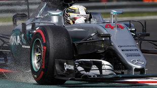 Lewis Hamilton im ersten Mexiko-Training voran (Bild: The Associated Press)