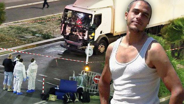 Der Massenmörder von Nizza (rechts im Bild) tötete 85 Menschen. (Bild: AP, maxapp)