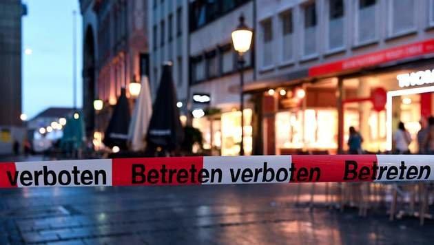 """""""Krone"""" vor Ort: """"München ist in Schockstarre"""" (Bild: APA/AFP/dpa/SVEN HOPPE)"""