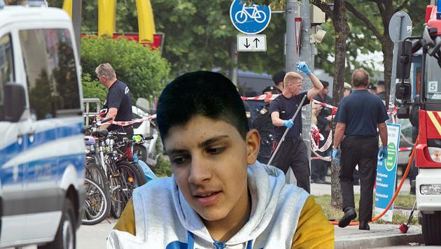 Ali David S. richtete in München ein Blutbad an. (Bild: AP)