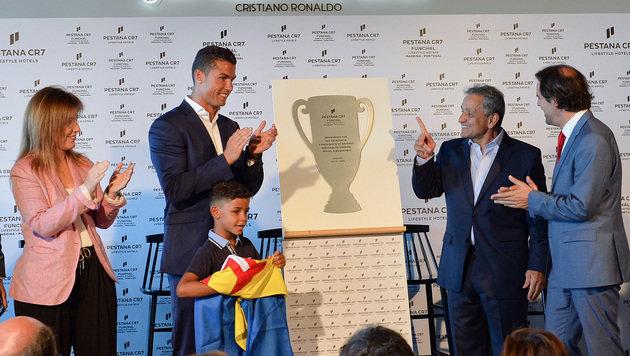 Cristiano Ronaldo hat jetzt eigenen Flughafen (Bild: AFP)