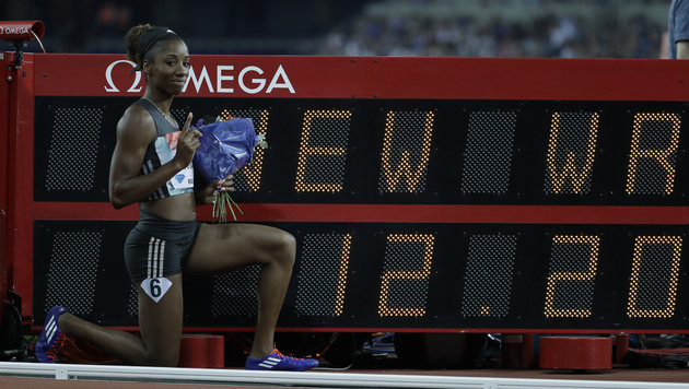 Harrison-Weltrekord überstrahlt Bolts Comebacksieg (Bild: AP)