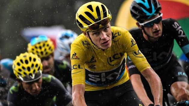 Nur mehr 113 km trennen Froome vom 3. Tour-Sieg (Bild: AFP)