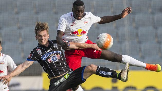 """RB Salzburg kassiert Auftakt-""""Watschen"""" bei Sturm! (Bild: APA/ERWIN SCHERIAU)"""