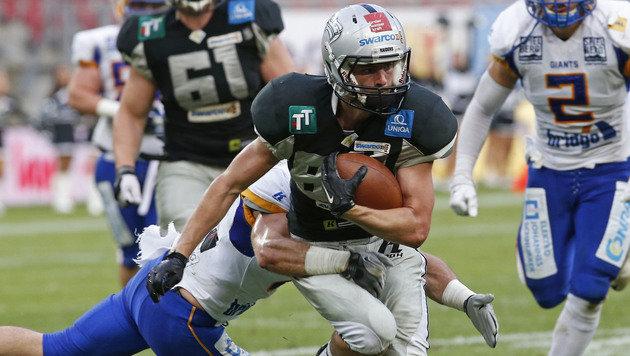 Raiders Tirol gewannen Austrian Bowl XXXII 51:7 (Bild: APA/GERT EGGENBERGER)