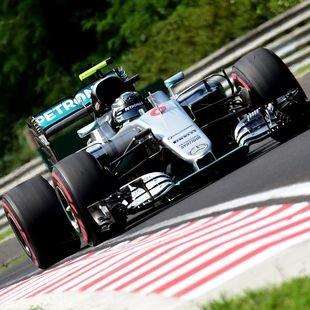 Rosberg nach Regen-Chaos auf der Poleposition (Bild: AFP)