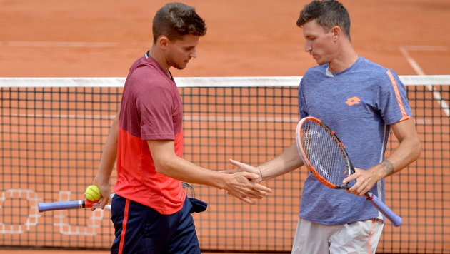 Schade! Thiem und Novak verlieren Final-Thriller (Bild: APA/BARBARA GINDL)