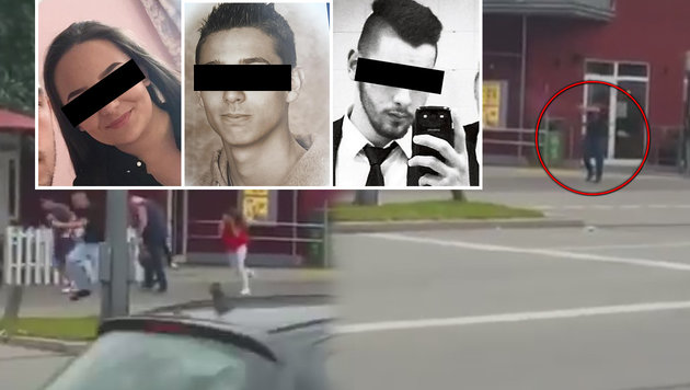 Drei der Opfer des Amokläufers: Armela S., Dijmante Z. und Hüseyin D. (Bild: Facebook.com, YouTube.com, Privat)