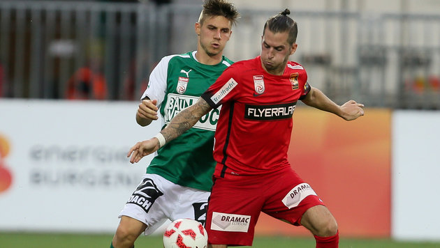 Knasmüllner schießt Admira zu 1:0 bei Mattersburg! (Bild: GEPA)