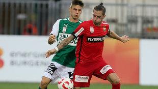 Knasm�llner schie�t Admira zu 1:0 bei Mattersburg! (Bild: GEPA)