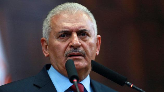 Regierungschef Binali Yildirim (Bild: AFP)
