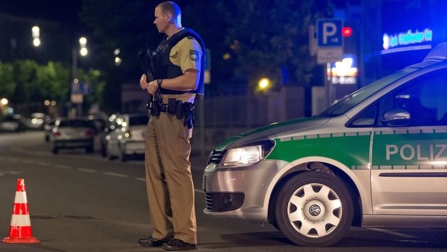 Die sieben Tage des Horrors in Deutschland (Bild: EPA)