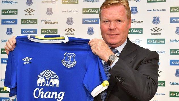 Everton-Coach Ronald Koeman (Bild: AP)