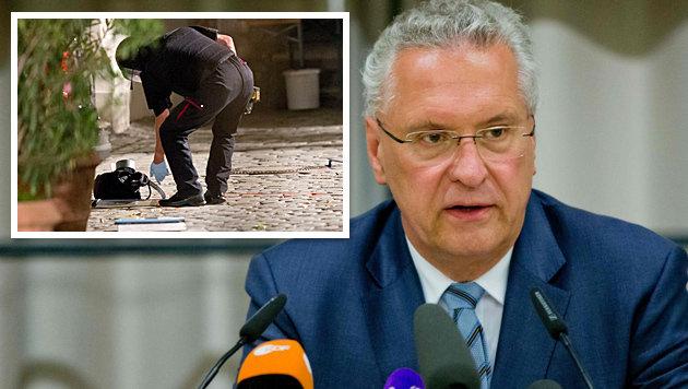 Laut Bayerns Innenminister Herrmann berief sich der Attentäter auf IS-Chef Abu Bakr al-Baghdadi. (Bild: APA/AFP/dpa/DANIEL KARMANN)