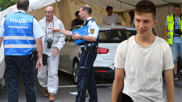 Beherzter Autofahrer stoppte den Messer-Mörder (Bild: facebook.com, dpa)