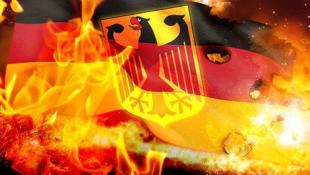 Die sieben Tage des Horrors in Deutschland (Bild: thinkstockphotos.de, krone.at-Grafik)