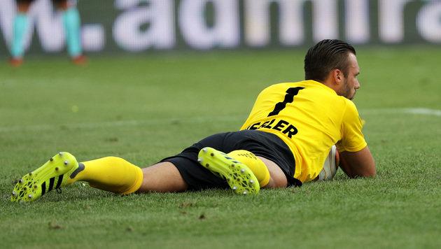 Irrer Goalie-Patzer verhilft der Austria zum Sieg! (Bild: GEPA)