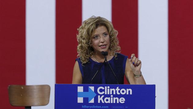 Wasserman Schultz stolperte über brisante E-Mails der Demokraten, die WikiLeaks enthüllt hatte. (Bild: ASSOCIATED PRESS)