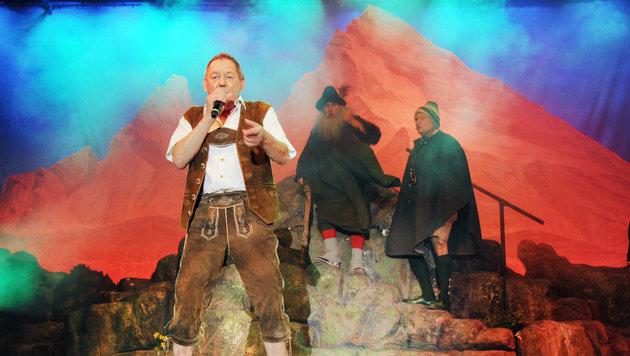 """Wolfgang Ambros im Kultstück """"Der Watzmann ruft"""" (Bild: www.VIENNAREPORT.at)"""