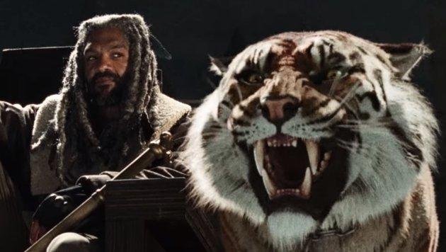 Der exzentrische König Ezekiel hält in der siebten Staffel erstmals Hof. (Bild: YouTube.com)