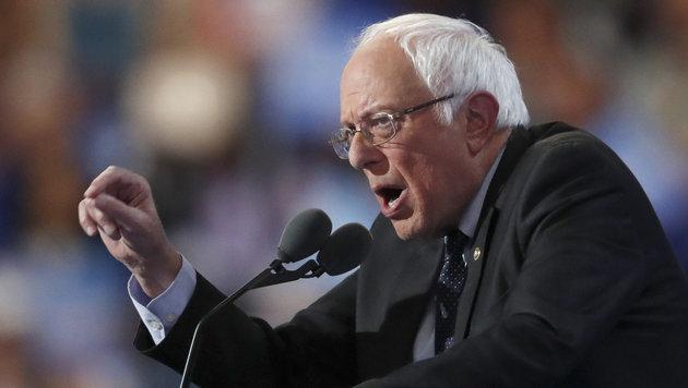 Ex-US-Präsidentschaftskandidat Bernie Sanders (Bild: AP)