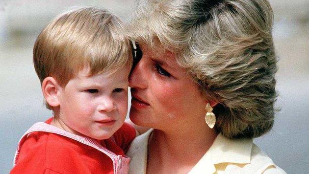 Prinz Harry und Prinzessin Diana (Bild: Viennareport)