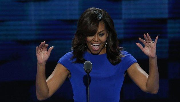 Michelle Obama (Bild: EPA)
