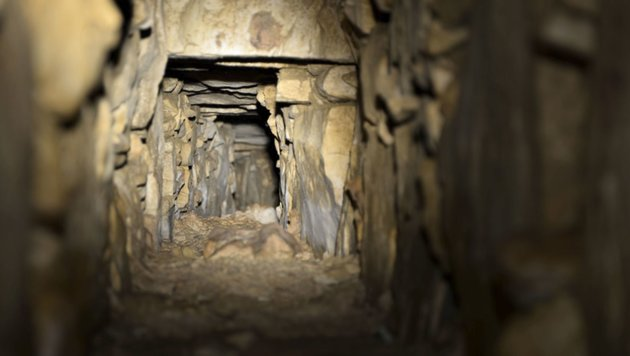 Kanalsystem aus Maya-Zeit unter Tempel entdeckt (Bild: INAH)