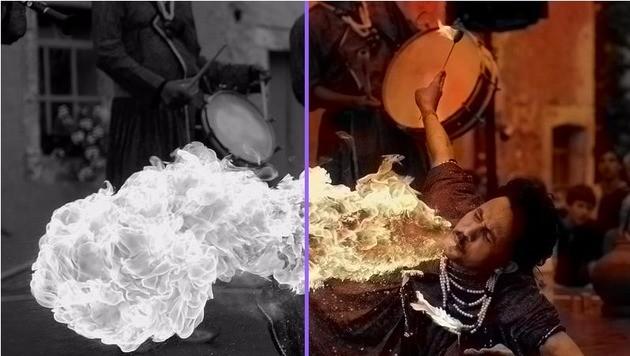 So bringen Sie Farbe in ihre Schwarz-Weiß-Fotos (Bild: Algorithmia)