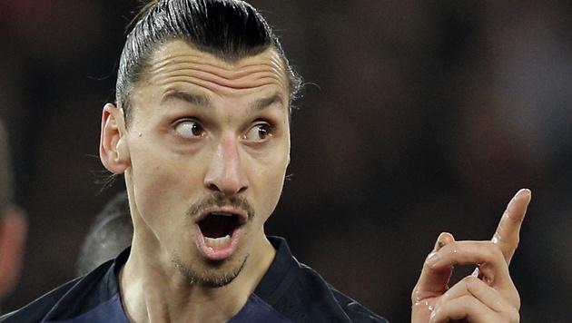 """""""Gott"""" erbarmt sich: Doucouré lernte von Zlatan (Bild: ASSOCIATED PRESS)"""