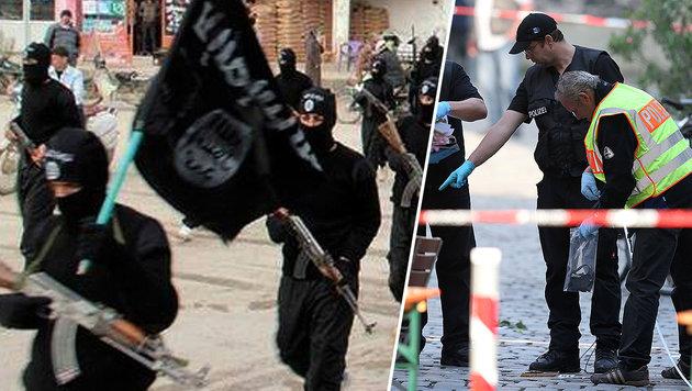 """""""Hunderte islamistische Terroristen in Europa"""" (Bild: AP, APA/AFP/dpa/DANIEL KARMANN)"""