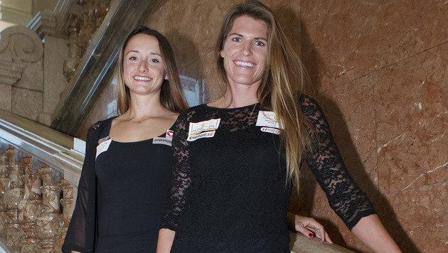 Ana Roxana Lehaci und Viktoria Schwarz (Bild: GEPA)