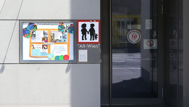 Der neue Kindergarten in Penzing (Bild: zwefo)