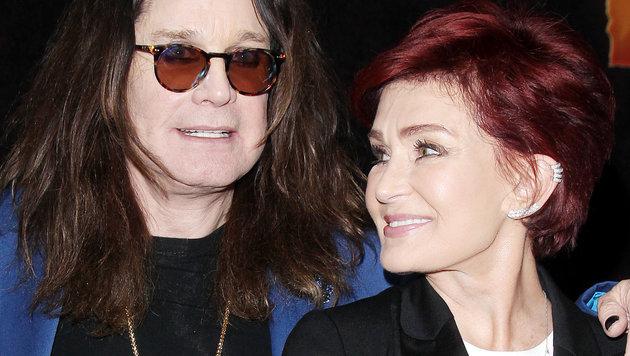 Ozzy und Sharon Osbourne im Mai 2016 (Bild: Viennareport)