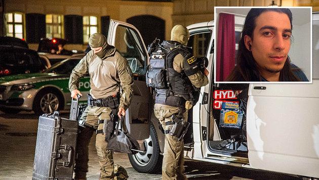 Mohammad Daleel (Bild rechts oben) verübte den Anschlag in Ansbach. (Bild: ASSOCIATED PRESS, APA/AFP/AMAQ NEWS AGENCY/HANDOUT)