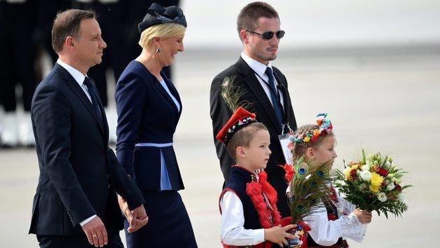 Papst mahnt Polen zur Aufnahme von Flüchtlingen (Bild: EPA)