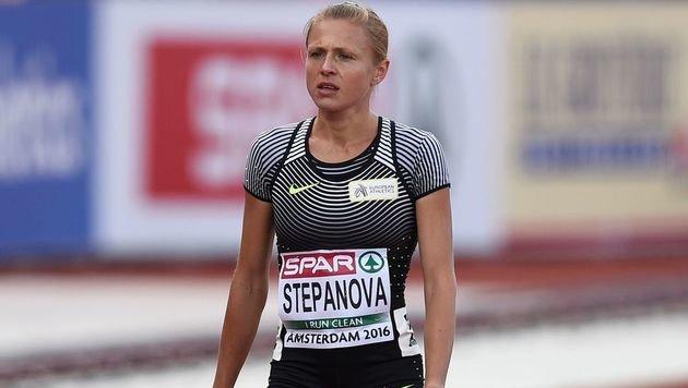 Doping-Kronzeugin Stepanowa steht vor dem Nichts (Bild: AFP)