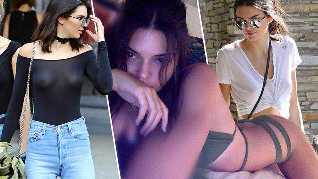 Kendall Jenner findet es cool, ohne BH rumzulaufen ... (Bild: face to face, Viennareport)