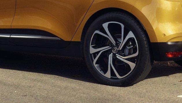 Werden Reifen k�nftig riesig, aber schmal? (Bild: Renault)