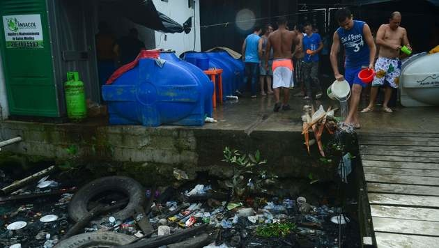 Jetzt hat auch Lateinamerika sein Idomeni (Bild: APA/AFP/RAUL ARBOLEDA)