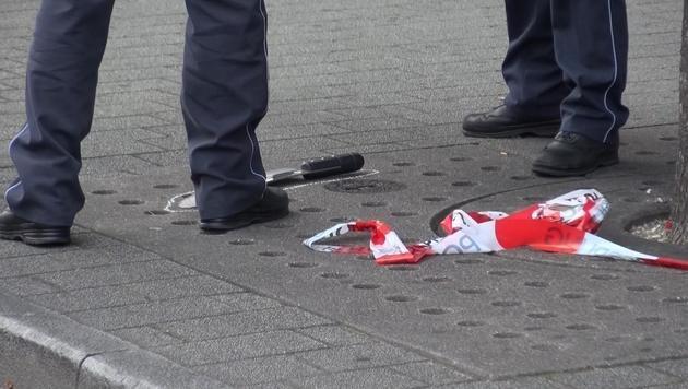 Ein 60 Zentimeter langes Dönermesser wurde in Reutlingen zur Tatwaffe. (Bild: AP)