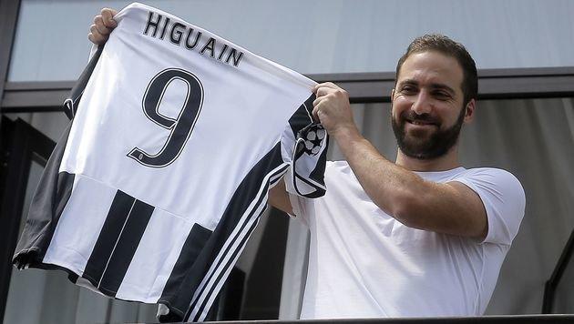 Gonzalo Higuain (Bild: AFP)