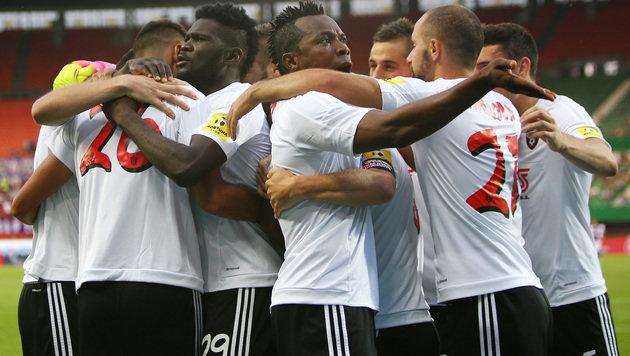 Austria blamiert sich daheim gegen Spartak Trnava! (Bild: GEPA)