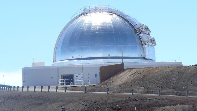 Die Infrared Telescope Facility am Mauna Kea auf Hawaii (Bild: NASA (CC BY-SA 2.5))