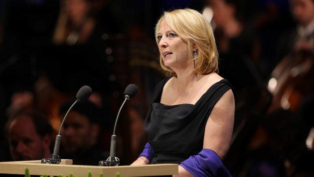 NR-Präsidentin Doris Bures während ihrer Rede anlässlich der Eröffnung der Salzburger Festspiele. (Bild: APA/NEUMAYR/MMV)